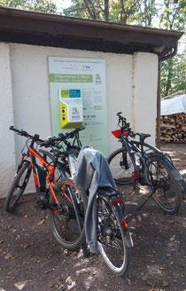 E- Bike Ladestation
