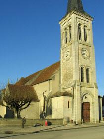 Eglise d'Heuilley-sur-Saône