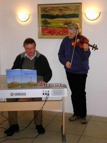Pastor Kaiser und Frau Eggers