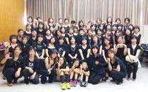 2010年加古川文化祭に参加。ワークショップを実地。そのメンバー達と。