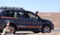 Traslado en vehiculos 4x4 Toyota Land Cruiser. www.solomarruecos.com