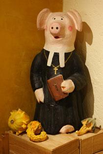 Frère Cochon segnet unsere Küche