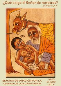 Cartel Semana de la Oración por la Unidad de los Cristianos
