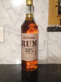 Inländer Rum 38% 1 Liter