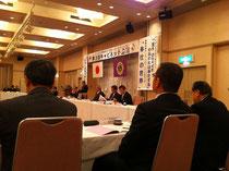 会議に参加するL.野村ZC(右端)