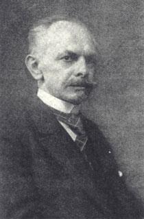 Der langjährige Vereinsvorsitzende Hugo Müller