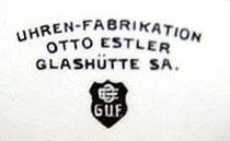 Das Zifferblattsignet der Firma