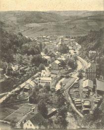 Glashütte 1904 Blick von der Bastei