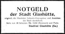 Werbeanzeige Saxonia Heft Nr.22 Juli 1922