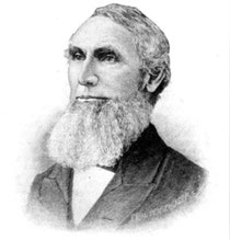 Aron J. Dennison * 6. März 1813  † 9. Januar 1895