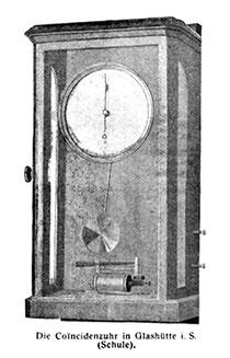 Die Koinzidenzuhr der Deutschen Uhrmacherschule Glashütte