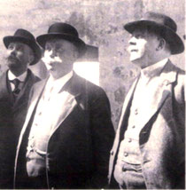 Lauritz Jensen mit Richard Grießbach um 1910 [3]