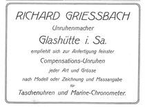 Saxonia Werbung 1905