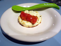 Gebackener Ricotta mit Tomatensoße
