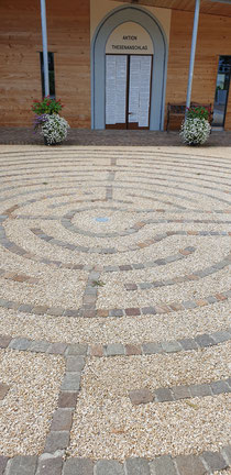 Entspannungspause Labyrinth