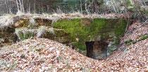 Bunker verschüttet