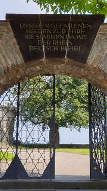 Bollwerk&Ehrenmal + Kapelle