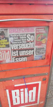 Bild-Zeitung vom 12.10.