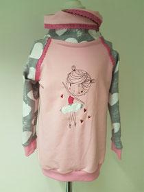 ❤ neu ❤ Pullover ab Größe 86 möglich mit Ballerina-Stickerei