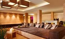 Die Hotel-Lounge