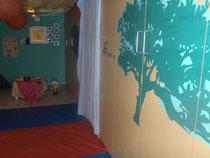 Une salle de relaxation spécialement aménagée