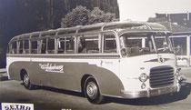 Fernreisebus 1950