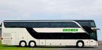 Doppelstock-Reisebus 74-Sitzplätze (Leihwagen)