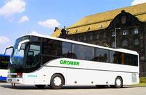 Reisebus 34-, 51-, 55-, 60- oder 67-Sitzplätze