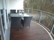 Ferienwohnung 3.23 Balkon