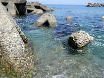 新潟県 糸魚川大和川 海水浴場
