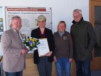 v.l.n.r.: Jürgen Wagner, Silke Westphalen, Heidrun Sauer, Karl-Heinz Gose