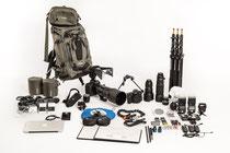 Mein Fotoequipment für nach CR