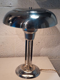 Art-Deco lamp in chroom j´30  € 350,00 contacteer antiek.atelier@skynet.be of 0479 81 03 89