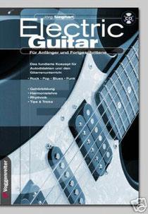 ELECTRIC GUITAR: E-Gitarre Lehrbuch mit CD von Jörg Sieghart (Voggenreiter Verlag)
