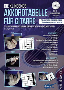 Die klingende Akkordtabelle von Jörg Sieghart / Tunesday Records