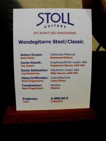 Steel meets classic - Wendegitarre auf der Musikmesse
