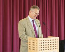 Begrüßung durch Gouverneur Prinz Gundakar von und zu Liechtenstein