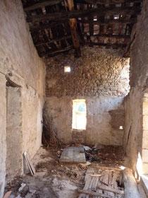 La fenêtre à meneau (de l'intérieur)