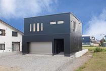 LOE-E 断熱窓 ガレージ付き ビルトイン 一階主寝室 採光