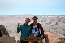 Ahh-oohh Point am Grand Canyon