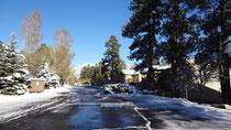 winterwonderland in den ersten Tagen