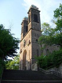 In Sankt Michael in Saarbrücken war Arnold Fortuin 1933 Kaplan und hette die ersten Kontakt zu Sinti und Roma