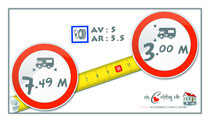 pressions pneus + gabarits