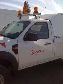 Signalisation lumineuse sur véhicule utilitaire