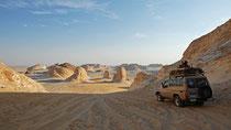 Weiße Wüste, Bahariya Oase, West-Ägypten