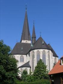 Ostansicht der Basilika