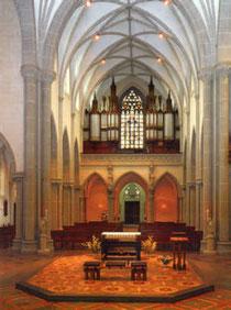 Gereon-Fenster mit Orgel