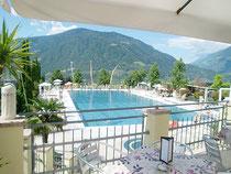 Wasserpark Dorf Tirol Oeffentliches Freischwimmbad