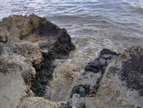 Scarico della Fogna di Pulsano e Leporano in mare