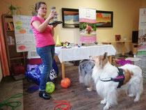 Hier zum Thema: Tiergestützte Therapie in psychiatrischen Einrichtungen